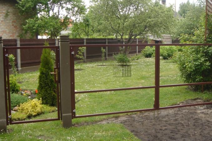 Распашные (двустворчатые) ворота